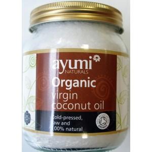 AYUMI - Óleo de Coco Virgem, Prenssado a Frio, Biológico, 100% NATURAL