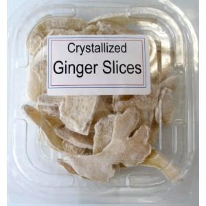 Crystalised Ginger Slices