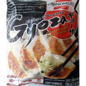GYOZA - Japanese Style Chicken and Vegetable DUMPLING 600g
