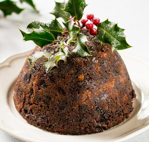 Christmas Pudding  ( Bolo de Natal ) Vegano